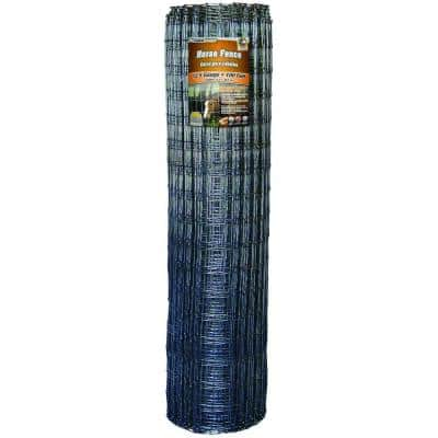 72 in. x 100 ft. Horse Fence with Galvanized Steel Class 1 Coating