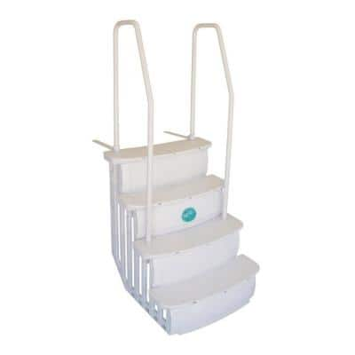 iStep Deck Entry Steps Ladder for Above Ground Swimming Pool