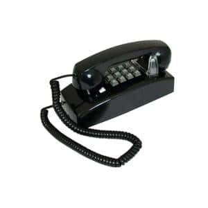 Wall Value Line Corded Telephone - Black