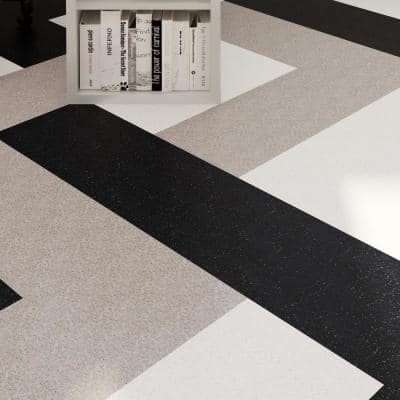 Imperial Texture VCT 12 in. x 12 in. Field Gray Standard Excelon Commercial Vinyl Tile (45 sq. ft. / case)