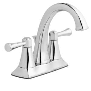 Stillmore 4 in. Centerset 2-Handle High-Arc Bathroom Faucet in Chrome