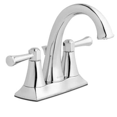 Stillmore 4 in. Centerset 2-Handle High-Arc Bathroom Faucet in Chrome