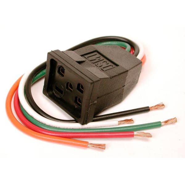 Dial 10 In Evaporative Cooler Motor Pigtail Receptacle 7584 The Home Depot