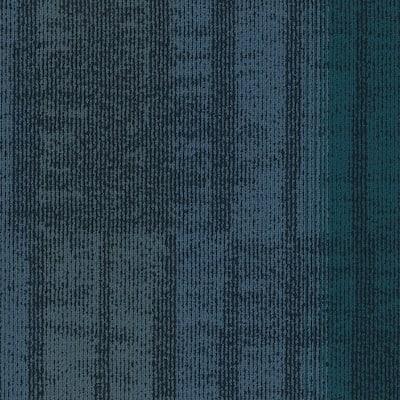 Framer Blue 24 in. x 24 in. Carpet Tiles (8syds. case/carton - 18 Tiles case/carton)