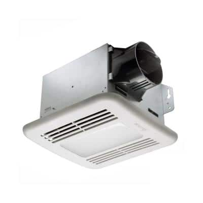 GreenBuilder Series 80 CFM Ceiling Exhaust Bath Fan with LED Light (3-Pack)