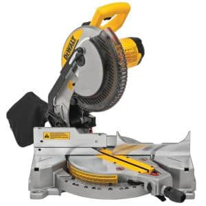 15 Amp Corded 10 in. Compound Single Bevel Miter Saw