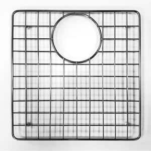 12.4 in. Grid for Kitchen Sinks in Brushed Stainless Steel