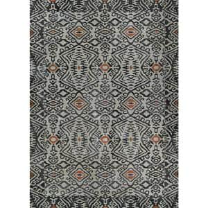 Dolce Mala Smoke 2 ft. x 4 ft. Indoor/Outdoor Area Rug