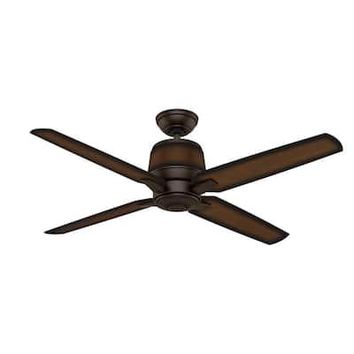 Aris 54 in. Indoor/Outdoor Brushed Cocoa Bronze Ceiling Fan