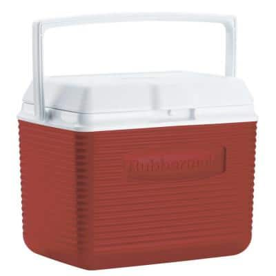 10 Qt. Red Chest Cooler