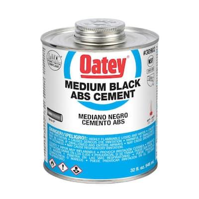 32 oz. Medium Black ABS Cement