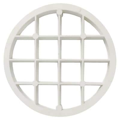 2 in. PVC Bird Screen for Tankless Water Heater