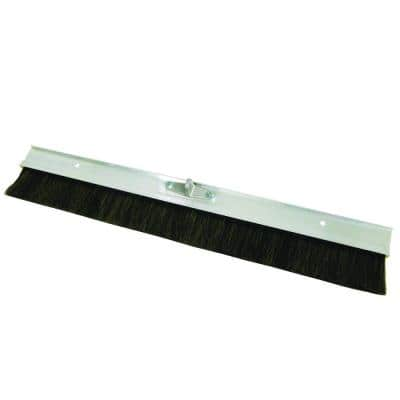 48 in. Aluminum Backed Concrete Broom-Horsehair