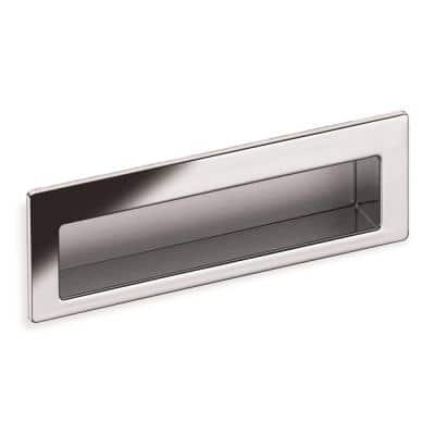 Z078 Series 3-3/4 in. Center-to-Center Polished Chrome Flush Cabinet Pull