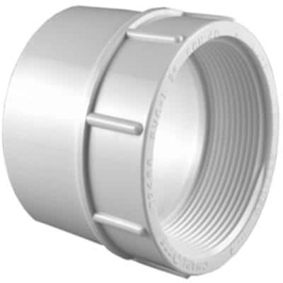 3/4 in. PVC Schedule 40 Female S x FPT Adapter
