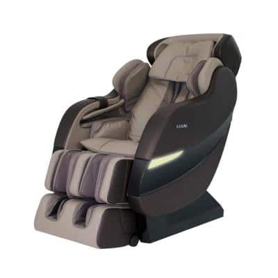 SM7300SCLOUD Beige Faux Leather SL-Track 6 Rollers Zero Gravity Reclining Massage Chair