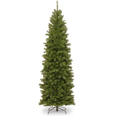 9 ft. North Valley Spruce Pencil Slim Artificial Christmas Tree