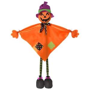36 in. Large Halloween Standing Jack-O-Lantern Prop