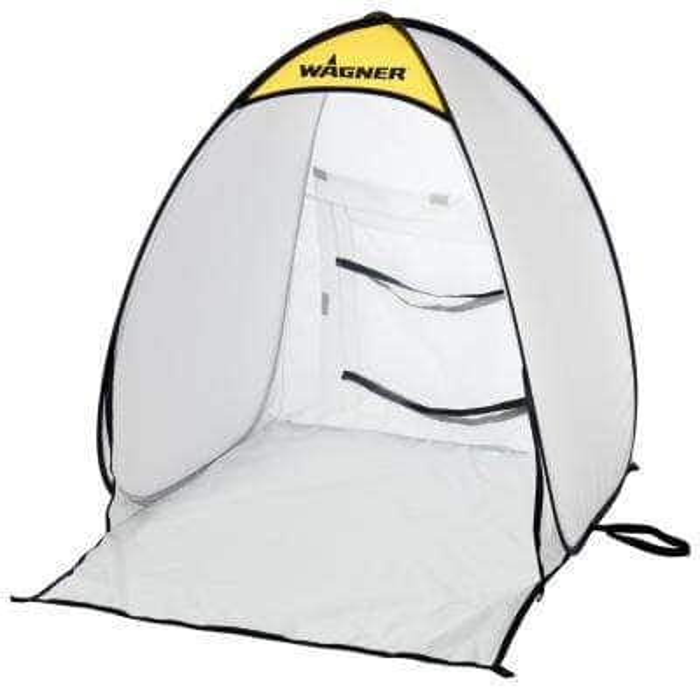2.9 x 2.5 White Polyester Small Spray Shelter