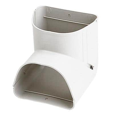 Fortress 90 Inside Vertical Elbow for Ductless Mini Split Cover