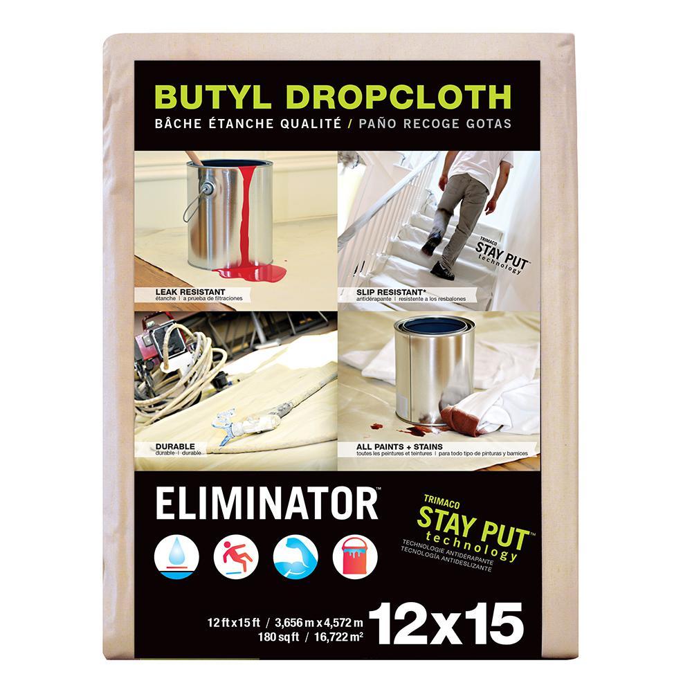 12 ft. x 15 ft. Eliminator Butyl Drop Cloth