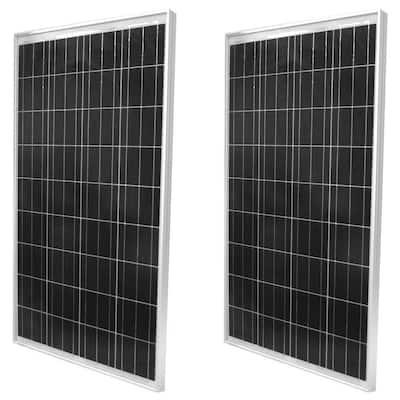 100-Watt Polycrystalline Solar Panel (2-Pack)