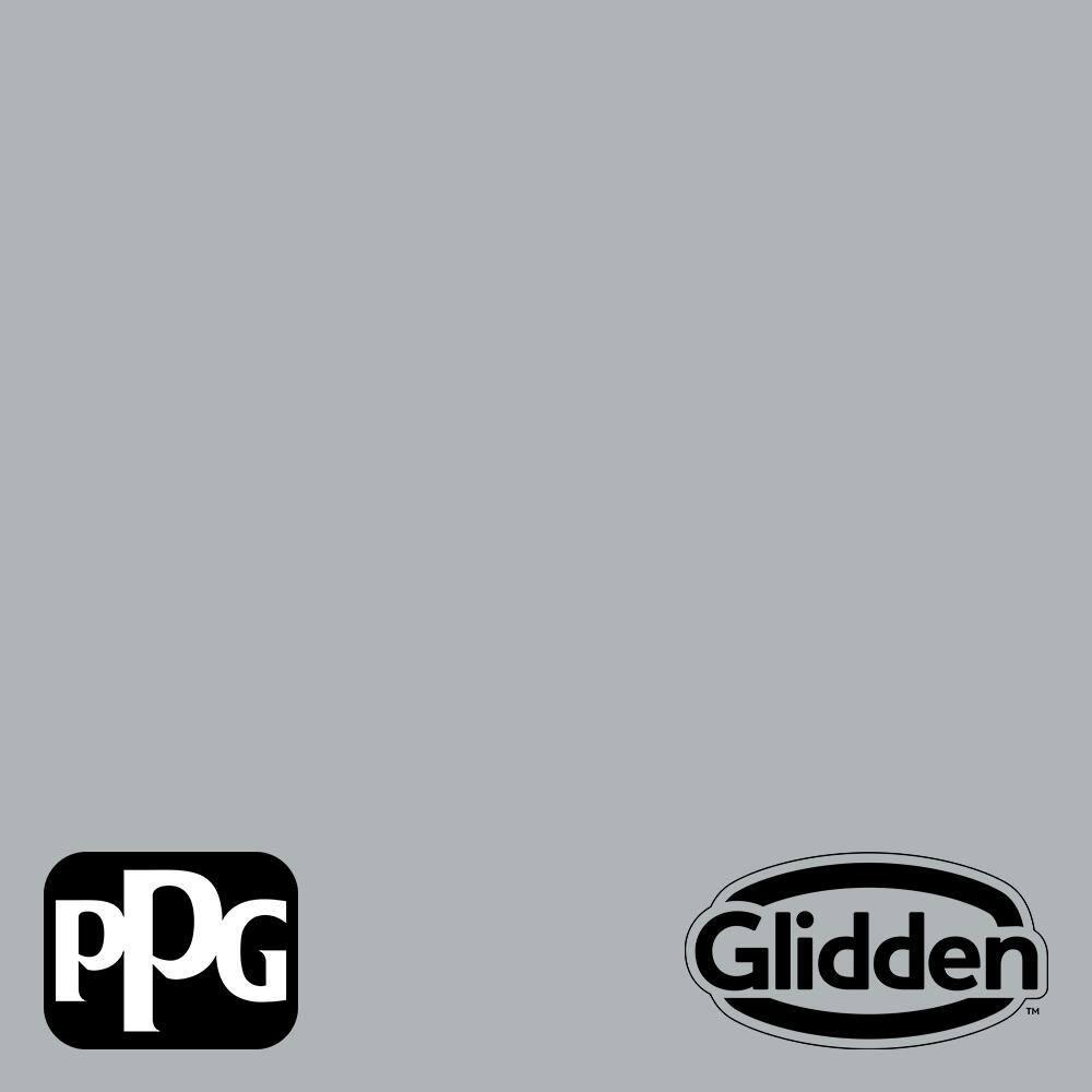 Glidden Essentials 1 Gal Ppg1011 3 Stargazer Flat Interior Paint Ppg1011 3e 01f The Home Depot