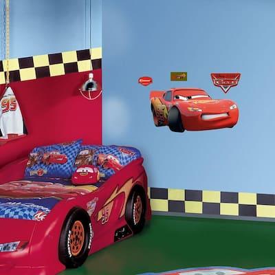 39 in. x 20 in. Lightning McQueen Wall Decal