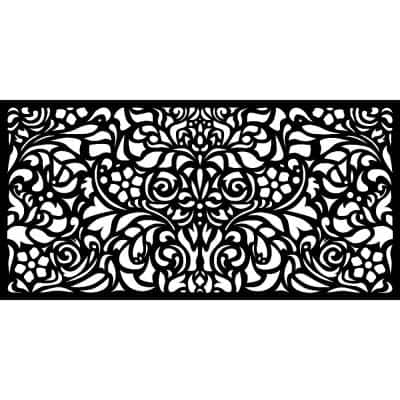 0.3 in. x 45.7 in. x 1.9 ft. Baroque Wall Art & Fence Panel