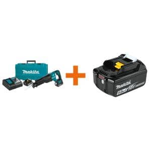 18-Volt 5.0Ah LXT Lithium-Ion Brushless Cordless Recipro Saw Kit with bonus 18-Volt LXT Lithium-Ion Battery Pack 5.0Ah