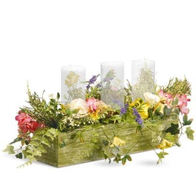 22 in. Candle Holder