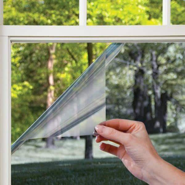PET Transparent Window Film Privacy Heat Control Mirror Films for Home Office