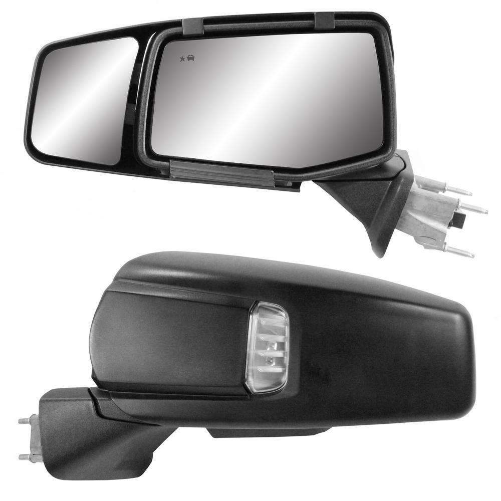 Clip-on Towing Mirror Set for 2019 Plus Silverado, Sierra 1500