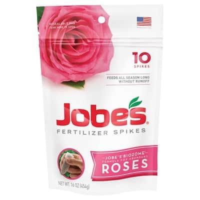 1lb. Rose Plant Food Fertilizer Spikes