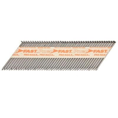 2-3/8 in. x 0.113 in. Smooth Brite 30-34 Degree Paper Tape Clipped Head Framing Nails