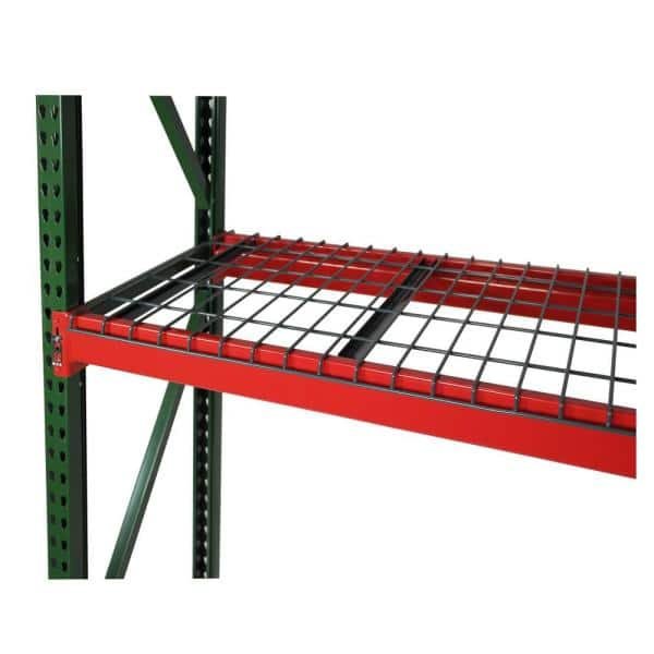 Pallet Rack 48-in x 96-in Teardrop Frame Green