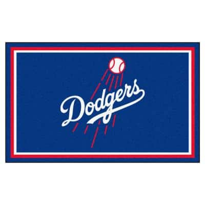 Los Angeles Dodgers 4 ft. x 6 ft. Area Rug