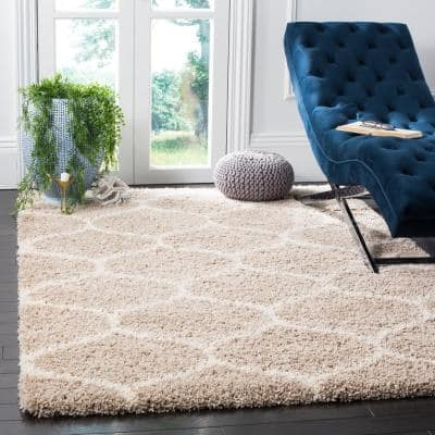 Trellis Beige Area Rugs Rugs The Home Depot