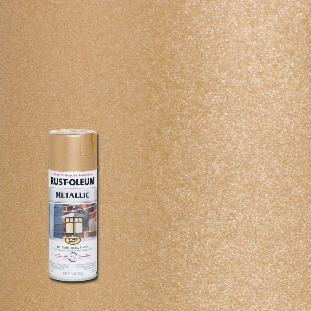 11 oz. Vintage Metallic Rose Gold Protective Spray Paint