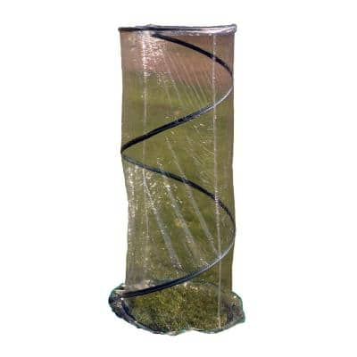 72 in. W x 27.5 in. D x 72 in. H Portable Pop-Up Greenhouse for Small Plants/Shrubs