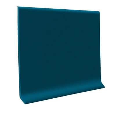 700 Series Blue 4 in. x 1/8 in. x 48 in. Thermoplastic Rubber Wall Cove Base (30-Pieces)