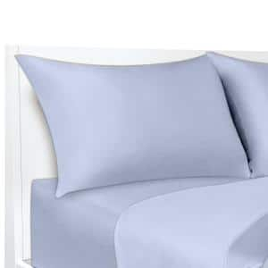 COOLMAX Blue King Pillowcases (Set of 2)