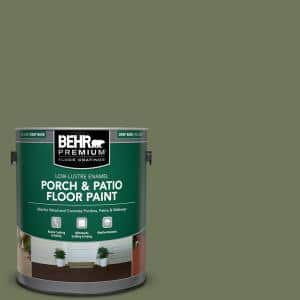 1 gal. #MS-54 Frontier Trail Low-Lustre Enamel Interior/Exterior Porch and Patio Floor Paint