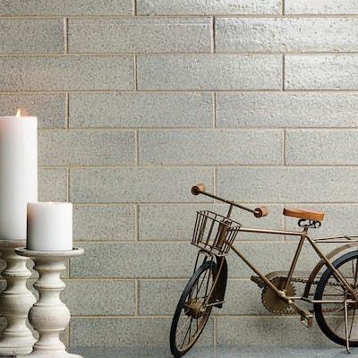 Rhythmic Dunes 2 in. x 9 in. 12mm Glazed Clay Subway Tile (30-piece 4.63 sq. ft. / box)