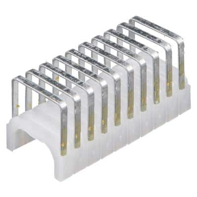 19/32 in. x 11/32 in. Insulated Staples (300-Pack)