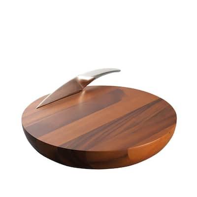 Harmony Wood Cheese Board with Knife