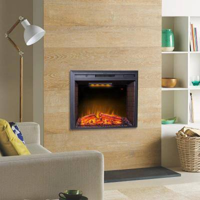 35.6 in. Electric Fireplace Insert