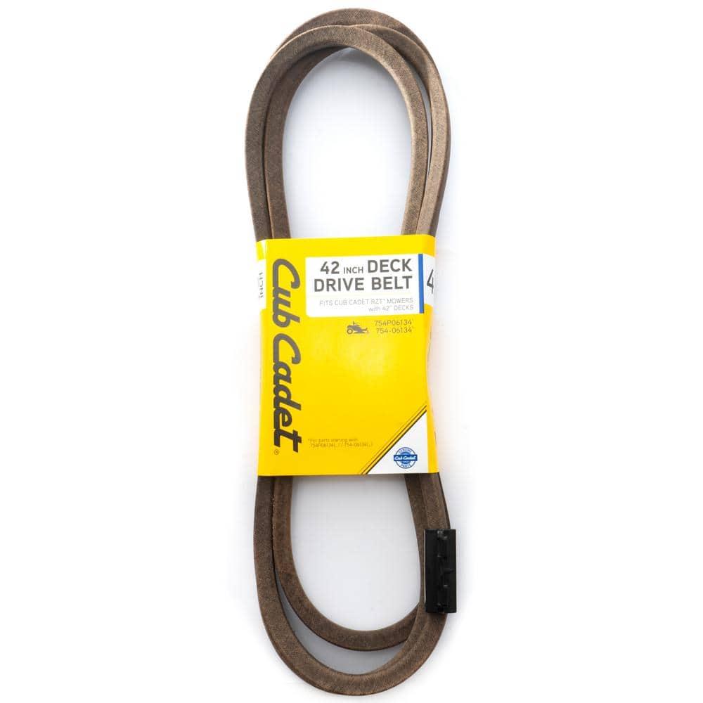 Cub Cadet Original Equipment Deck Drive Belt for Select 42 in. Zero Turn Lawn Mowers OE# 754P06134