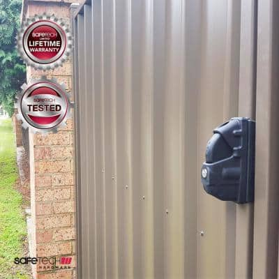 Safetech Pedestrian Gate Latch with Dual Access