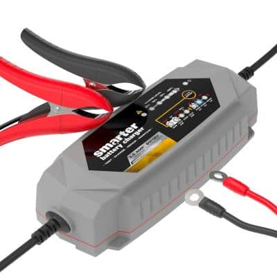 3.5 Amp 6-Volt/12-Volt Smart Automotive Battery Charger, Maintainer, Repairer, Tester with Advanced Desulphation Process